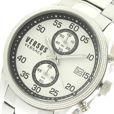 10000円以上送料無料 ヴェルサスヴェルサーチ VERSUS VERSACE 腕時計 メンズ S66020016 クォーツ ホワイト シルバー 【腕時計 海外インポート品】 レビュー投稿で次回使える2000円クーポン全員にプレゼント