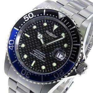レビュー投稿で次回使える2000円クーポン全員にプレゼント直送インヴィクタINVICTA自動巻きメンズ腕時計15584ブルー/ブラック【腕時計海外インポート品】