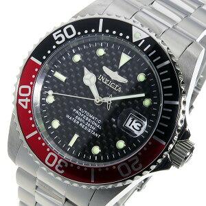 レビュー投稿で次回使える2000円クーポン全員にプレゼント直送インヴィクタINVICTA自動巻きメンズ腕時計15585レッド/ブラック【腕時計海外インポート品】