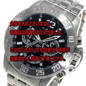 レビュー投稿で次回使える2000円クーポン全員にプレゼント直送インヴィクタINVICTAクオーツクロノメンズ腕時計17444ブラック【腕時計海外インポート品】