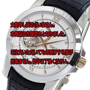 レビュー投稿で次回使える2000円クーポン全員にプレゼント直送セイコーSEIKOプルミエPremier自動巻きメンズ腕時計SSA322J1シルバー【腕時計海外インポート品】