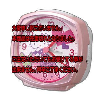 你好,基蒂凱蒂貓鬧鐘 R478 4RA478 M13 粉紅色直接