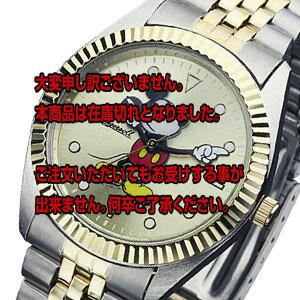 レビュー投稿で次回使える2000円クーポン全員にプレゼント直送インガソールディズニーミッキークオーツメンズ腕時計ZR26507ゴールド【腕時計国内正規品】