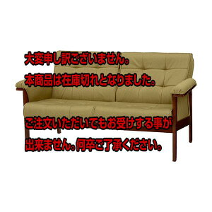 レビュー投稿で次回使える2000円クーポン全員にプレゼント直送ソファー2人掛けファルテ2P-GR4934257227711グリーンき【インテリア椅子・ソファ】