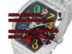 レビュー投稿で次回使える2000円クーポン全員にプレゼント直送コグCOGU自動巻きジャンピングアワーメンズ腕時計JH7M-BCLブラック【腕時計低価格帯ウォッチ】