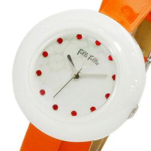 レビュー投稿で次回使える2000円クーポン全員にプレゼント直送フォリフォリFOLLIFOLLIEフォーハートレディース腕時計WF13F030SSO-OR【腕時計海外インポート品】