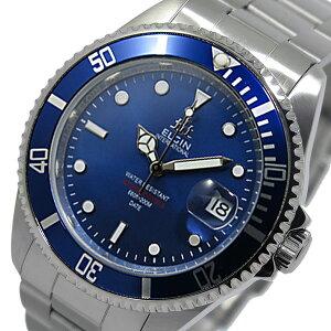レビュー投稿で次回使える2000円クーポン全員にプレゼント直送エルジンELGIN自動巻きメンズ腕時計FK1405S-BLブルー【腕時計国内正規品】
