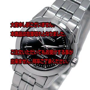 レビュー投稿で次回使える2000円クーポン全員にプレゼント直送セイコーSEIKO100Mクオーツレディース腕時計SXA099P1ブラック【腕時計海外インポート品】