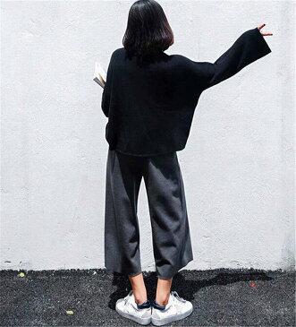 ズボン 9分丈 大きいサイズ スカーチョ ガウチョパンツ【大きいサイズ レディース 7分丈 下着 ボトムス 裏起毛 ストレート スキニー ショーツ 冬 pants】