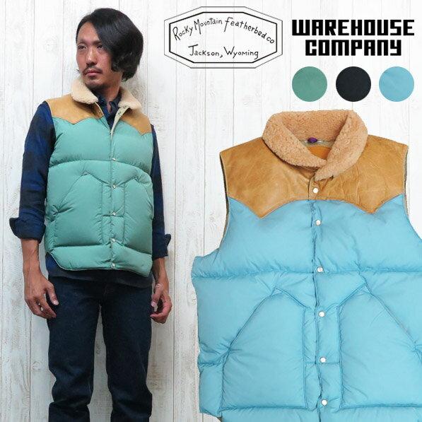 メンズファッション, コート・ジャケット  WAREHOUSE ROCKY MOUNTAIN FEATHERBED WH2116