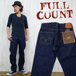 【ポイント5倍】フルカウント FULLCOUNT 1101 ジーンズ デニム ミドルストレート ジーパン (27...