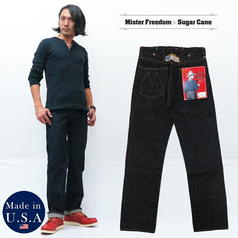 メンズファッション, ズボン・パンツ SUGAR CANE 16.25oz BACKAROO JEANS SPORTS MAN MADE IN U.S.A Mister Freedom MFSC SC41761