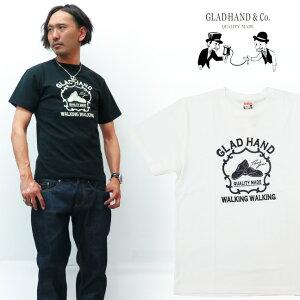 GLAD HAND グラッドハンド 半袖 クルーネック Tシャツ ADVERTISING SHORS GH-19-MS-11
