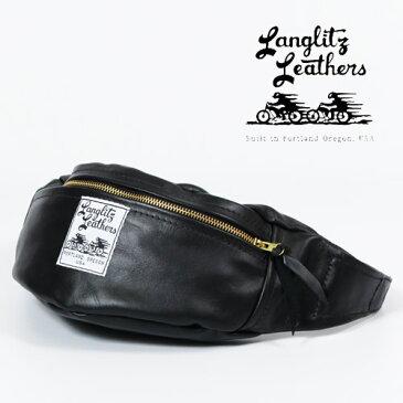 ラングリッツレザーズ Langlitz Leathers インサイド ポケット ウエスト バッグ Inside Pocket Waist Bag レザー ツールバッグ ポーチ 革 バイク