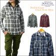 ダブテイル DOVETAIL ダブルガーゼチェックワークシャツ