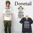 ダブテイル DOVETAIL トリムTシャツ 【メール便OK】