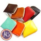 KC'S ケーシーズ 財布 サイフ ウォレット コインケース 小銭入れ レザー ミニウォレット Lジップ カウハイド KIB106