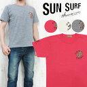 サンサーフ SUN SURF 半袖 プリント HAWAIIAN PRINT Tシャツ 「銀龍酒家」 SS77503