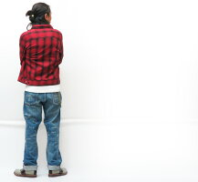 GANGSTERVILLE ギャングスタービル CPO チェック シャツ ジャケット JACK レーヨン コットン GLAD HAND グラッドハンド GSV-20-SS-12 【2020年 秋冬 新作】