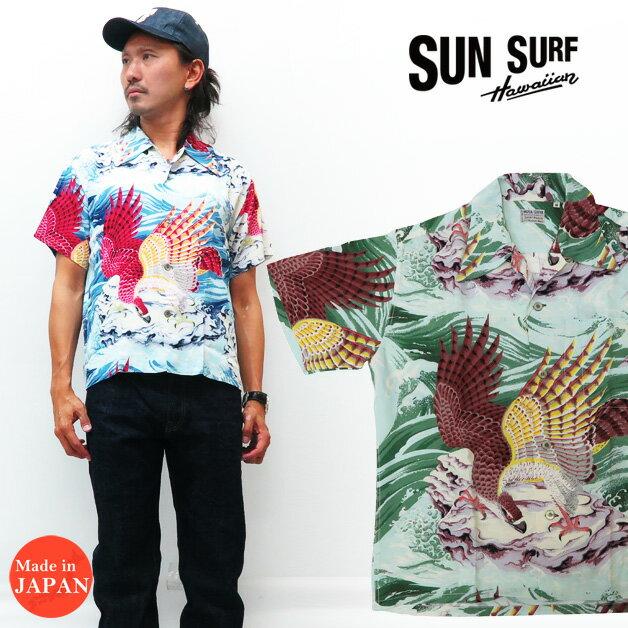 トップス, カジュアルシャツ  SUN SURF SPECIAL EDITION THE EAGLE HAS LANDED MUSA-SHIYA SHOTEN LTD. SS38415