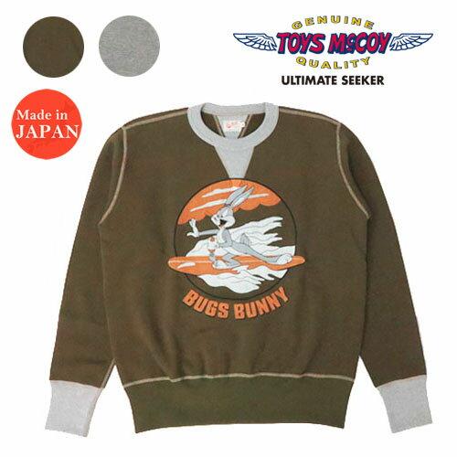 トップス, スウェット・トレーナー  TOYS McCOY MILITARY SWEAT SHIRT BUGS BUNNY MOSQUITO BOAT TMC2062 2020