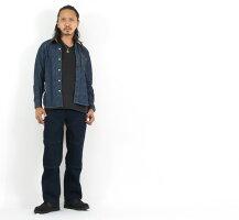 デラックスウェアDELUXEWAREロゴ刺繍10.5ozデニムシャツ長袖7647【2021-22年秋冬新作】