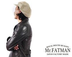 Mr.FATMANミスターファットマンジョニーキャスケットコットンツイルTHEFATHATTER5203603【2021-22年秋冬新作】