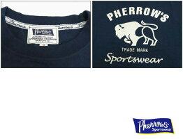 フェローズPherrow's半袖Tシャツプリント「Buffalo」バッファロー18S-PT2
