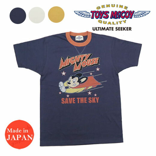 トップス, Tシャツ・カットソー  TOYS McCOY T MIGHTY MOUSE TEE SAVE THE SKY TMC2102 2021