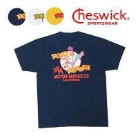 チェスウィック CHESWICK ROAD RUNNER ロードランナー 半袖 Tシャツ プリント RR MOTOR SERVICE CH78502