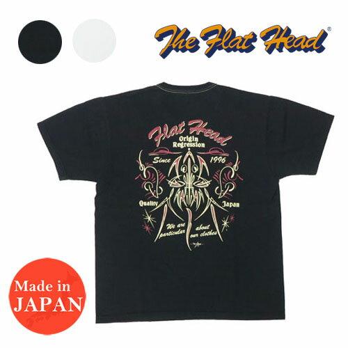 トップス, Tシャツ・カットソー  THE FLAT HEAD T PINSTRIPE RAT THC FN-THC-007