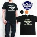 バズリクソンズ Buzz Rickson's 半袖 プリント Tシャツ 「MIGHTY EIGHTH」 BR77542