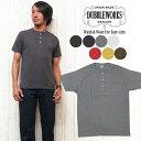 ダブルワークス DUBBLE WORKS Tシャツ 半袖 ヘンリーネック 33008 無地Tee 【メール便OK】 【2017年 秋冬 新作】