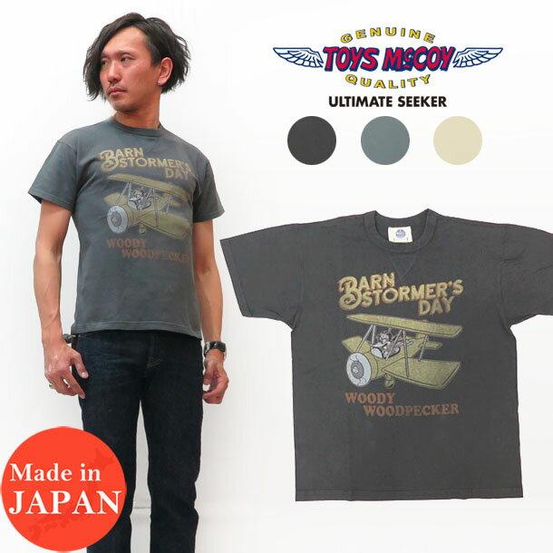 トップス, Tシャツ・カットソー  TOYS McCOY WOODPECKER T MIL TEE BARNS TORMER TMC1916