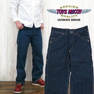 玩具的麥科伊 / 麥科伊 McHILL 工作服服裝 RAILMAN 褲子沃巴什 TMP1405