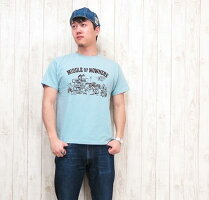 ダブルワークスDUBBLEWORKSTシャツ半袖クルーネックプリント33005-07「NOWHERE」【メール便OK】