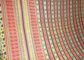 スンダイカット☆ダブルサイズ(280×192cm)〜その2〜《手織り絣》