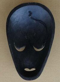 木彫りマスク〜ロンボクペイント〜☆25cm/その2☆】〈アジアンエスニックトラディショナルアンティーク調〉