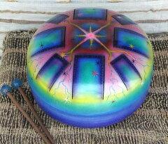 誰でも手軽に楽しめる、不思議な音色のスティールドラム。インドネシア製☆Hapi Drum(ハピ・ド...