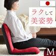 キレイな姿勢を楽にキープ【送料無料】 日本製 美姿勢 座椅子 Mサイズ リクライニング 座イス 椅子 コンパクト チェア リクライニングチェアー リクライニングチェア 折りたたみ フロアチェアー 座いす コンパクト 1人掛け イス 姿勢 きれい サポート