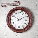 ◎今夜20時〜4H限定!全品P10倍◎【送料無料】 木製 掛け時計 壁...