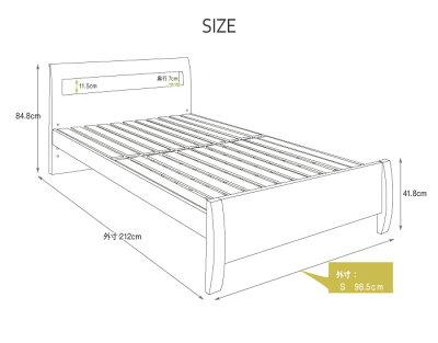 【送料無料】すのこベッドシングルフレームベッドフレーム木製ベッドナチュラル北欧ベッドシングルベッドすのこベッドフロアベッドシングル