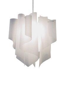 透明感のあるオーロラをイメージしたデザイン【DI CLASSE(ディ クラッセ)】 ペンダントランプ Auro M pendant lamp グッドデザイン賞 シェードのドレープ ★アウロM ペンダントランプ収
