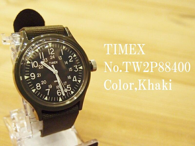 ヘリテージコレクション'Camper'オリジナル復刻モデル TIMEX タイメックス EASY NAVY TW2P88400