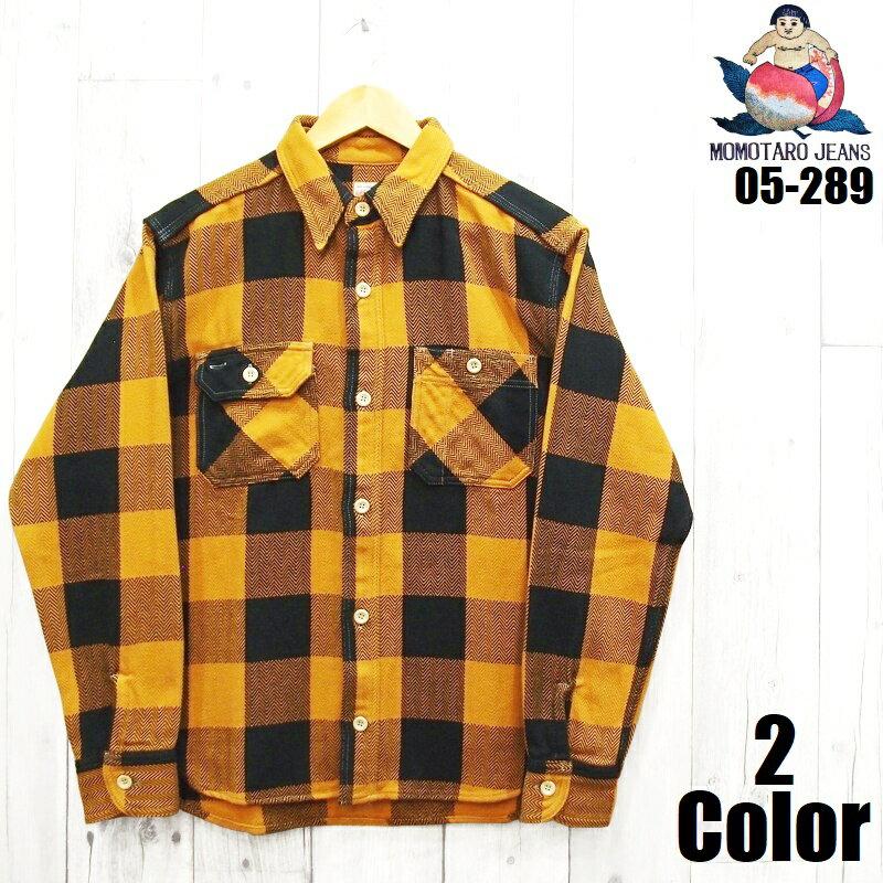 トップス, カジュアルシャツ  Classic Fit MOMOTARO JEANS EASY NAVY 05-289