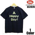 ウエス'UES'インディゴ染めロゴプリントTシャツUESEASYNAVY652021半袖国産日本製メンズアメカジあす楽送料無料