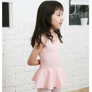 【サンシャ】D171C バレエ レオタード子供用(キッズ/ジュニア/子ども/こども) スカート付きのシ...