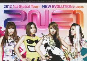 【送料無料】2NE1/2NE1 2012 1st Global Tour−NEW EVOLUTION in Japan