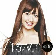 ノースリーブス/Answer(初回生産限定盤A)(DVD付)