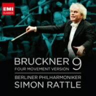 【送料無料】ラトル/ブルックナー:交響曲第9番(第4楽章付)補筆完成版